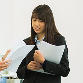 2015年度入社 佐久間(業務課)